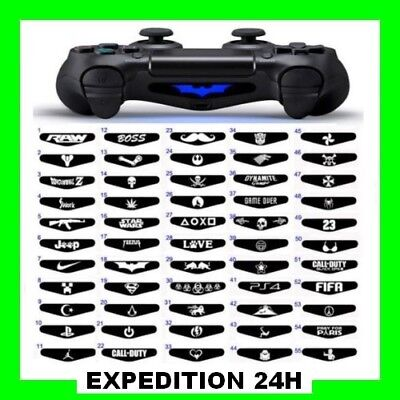 Sticker Lightbar /  light bar ps4 Autocollant barre lumineuse PS4 controller