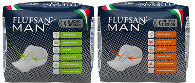 Flufsan Incontinence Pads for Men