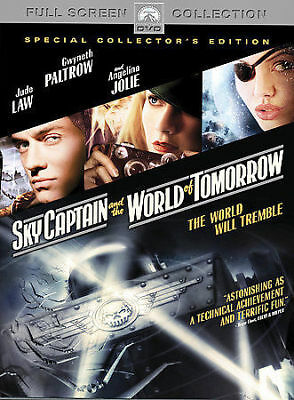Sky Captain and the World of Tomorrow-Jude Law-Gwyneth Paltrow-Angelina Jolie---