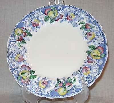 Royal Doulton Pomeroy Blue Multicolor Salad Plate