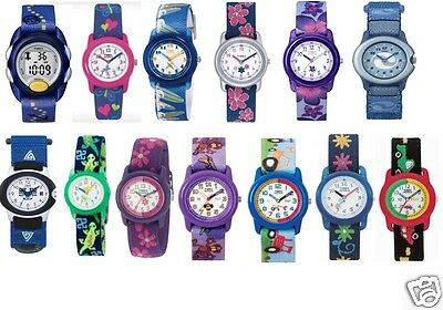 Watches Timex From Children Straps With Fantasie Multicolour Light Indiglo