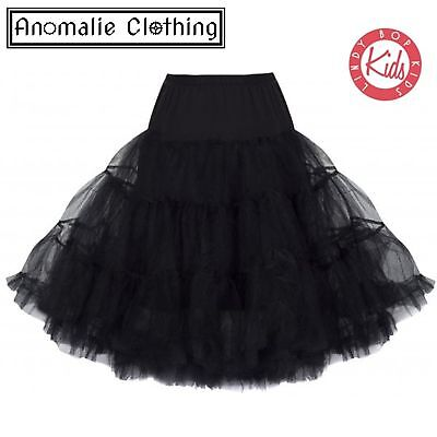 Lindy Bop Children's Black Petticoat - One Age 5-6 Left!