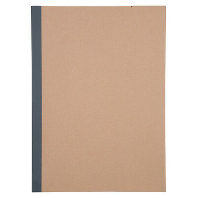 MUJI made in japan 6mm ruled 30 sheets (60 pages) A5 size notebook  note