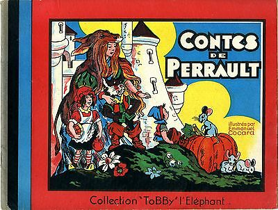 """CONTES DE PERRAULT illustrés par Emmanuel COCARD"" Collection ""TOBBY"" l'Eléphant"