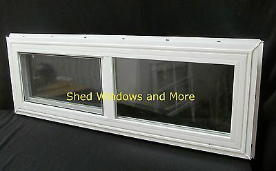 "Double Pane Horizontal 36""x12"" Window Vinyl Moble Homes Tiny Houses Playhouses"