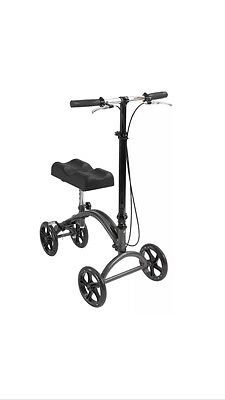 Drive Medical Walker Aluminum Steerable Knee Crutch Alternative DV8