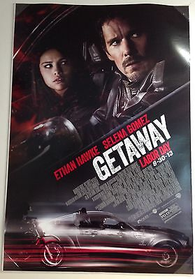 "Getaway.. Original Double Sided 27"" X 40"" One Sheet Movie Poster"