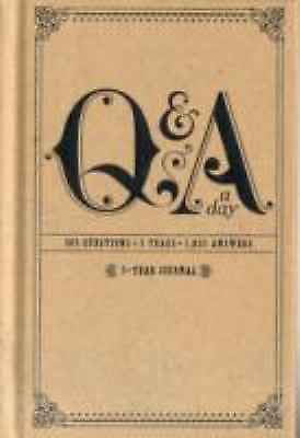 Q&a a Day: 5-Year Journal by Potter Style (2010, Merchandise, Other)