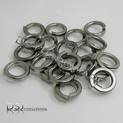 M8 Qty:20 - A2 Stainless Square Section Spring Washers