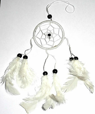 CAPTEUR/ATTRAPEUR DE REVE/DREAM CATCHER COUNTRY Blanc dreamcatcher white