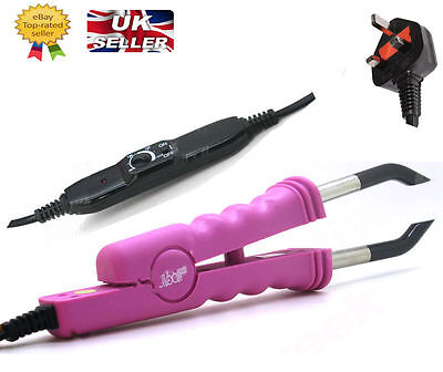 Heat Iron Gun Pre- Bonded Fusion Adjustable Connector Human Hair Extensions
