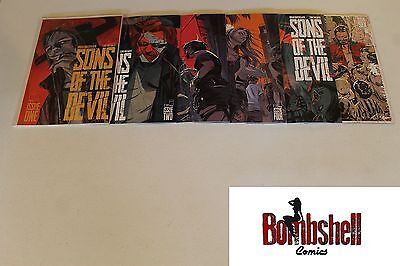 Sons of the Devil 1 2 3 4 5 6 Complete Comic Lot Run Set 1st Print Collection
