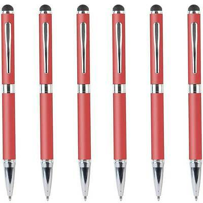 6pk Belkin Stylus/Pen for iPad/Tablet/iPhone/Samsung Capacitive Touch Screen Red