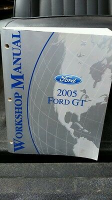 Ford Factory service manual Free Shipping 2005 GT