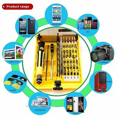 Screwdriver Set 45 in 1 For Cell Phone Laptop PC Repair Tool Kit Portable New