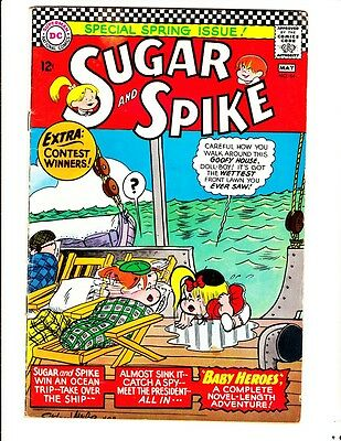 Sugar and Spike 64 (1966): FREE to combine- in Very Good condition