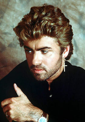 George Michael Unsigned Photo - 7747 - Careless Whisper, Fast Love & Outside