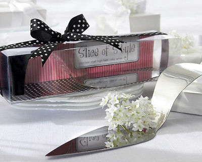 "Wedding & Event Decoration - Cake Server - Butterfly - ""Slice of Style"" High Hee"