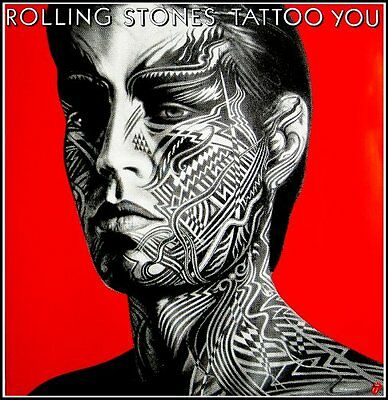 Giant Rolling Stones Tattoo You Poster Set
