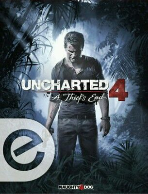 SALE!! Uncharted 4: A Thief's End e-Guide Code Prima Games