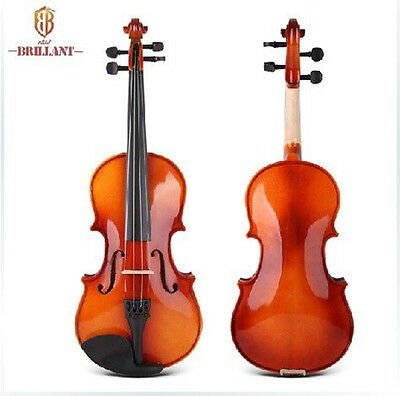 Brillant Violin 1/2 Size Comes with Hard Case, Bow and Rosin