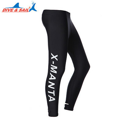 Mens/Womens Lycra Snorkeling Suit Diving Trousers Sports Fitness Yoga Long Pants