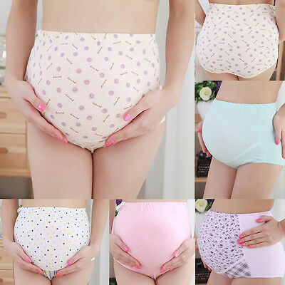 Adjustable Pregnancy Maternity Soft Cotton Pant Pregnant Women Underwear Panties