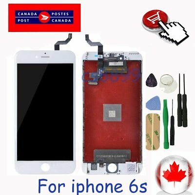 "New For White iPhone 6S 4.7"" LCD Replacement Screen Touch Digitizer Assembly"