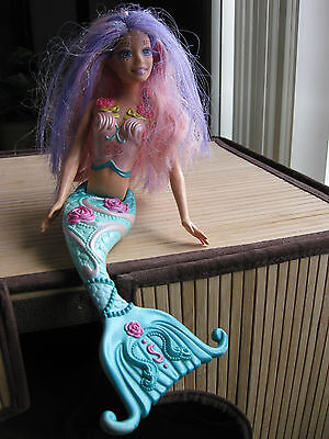 Mattel Barbie 2005 Fairytopia Mermadia Mermaid doll Shella