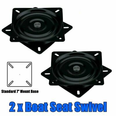 2 x Kaiser Boating Boat Seat Swivel Base Standard Mount