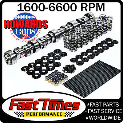 "HOWARD'S GM Chevy LS LS1 270/274 604""/612"" 113° Cam, Dual Springs Kit & Pushrods"