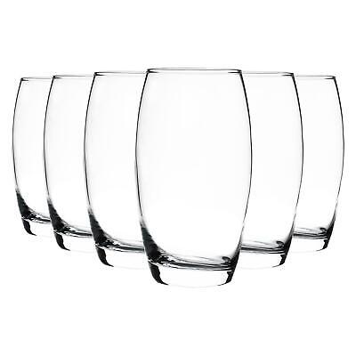 Tondo Water / Juice Hi Ball Highball Drinking Glasses - Gift Box of 6 - 510ml