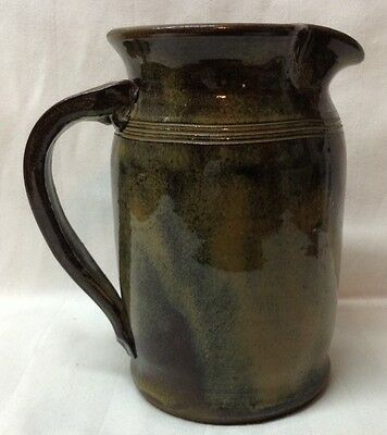 Handmade Pottery Pitcher 6 1/2 inches