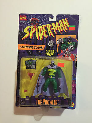 The Amazing Spiderman The Prowler Extending Claws 1995 action figure ToyBiz