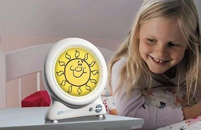 Toddler Nursery Sleep Trainer Clock Gro Company Night Light With Storybook Baby