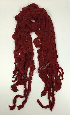 Bulk Lots 12x Ladies Warm Winter Soft Knit long Scarf -7 Colours Assorted G6315