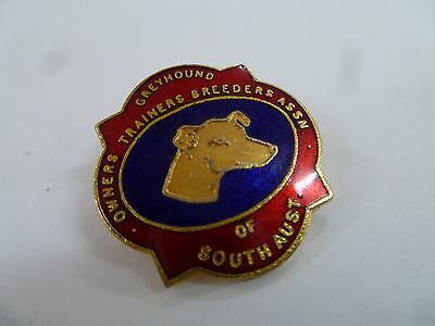 Greyhound Owners Trainers Breeders Assn Of South Australia Badge