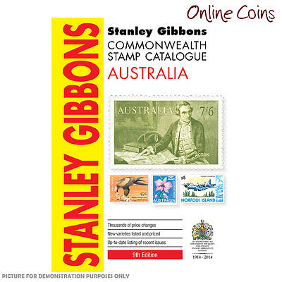 Stanley Gibbons - Commonwealth Stamp Catalogue Australia 9th Edition SC Book