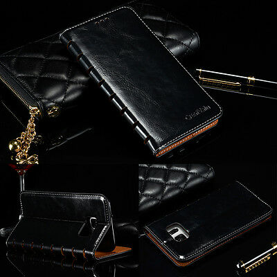 New Luxury Magnetic Flip Cover Stand Wallet Leather Case For Samsung Models