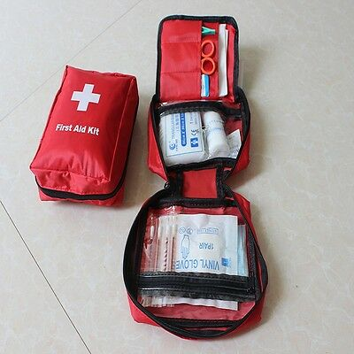 Camping Hiking Survival Travel Sports Emergency Usual First Aid Kit Medical Bag