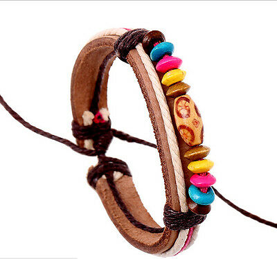 WOMEN FASHION ADJUSTABLE LEATHER mosquito repellent bracelet band KEEP BITE AWAY