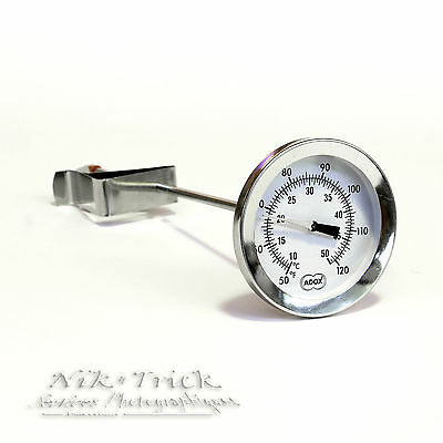Adox Precision Dial Thermometer with Glowing Marker ~ Accurate!!