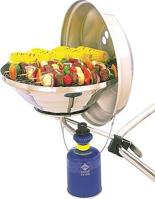 MAGMA Bordgrill Gas oder Kohle Grill Boot Yacht Relingsgrill Camping