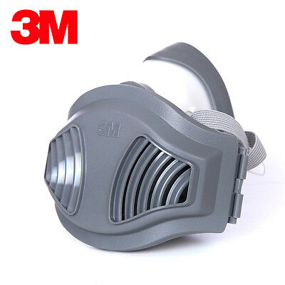 3M 1211 Half Face Rubber Protective Respirator Mask Anti-Dust PM2.5 Industrial