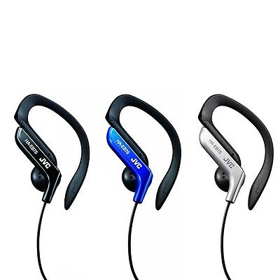 JVC HA-EB75 Sports Running Ear Clip Gym Adjustable EarHook Headphones Earphones
