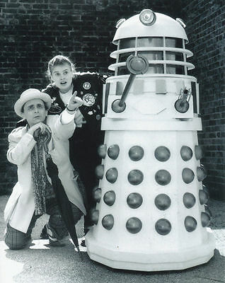 SYLVESTER McCOY & SOPHIE ALDRED UNSIGNED PHOTO - 6293 - DOCTOR WHO