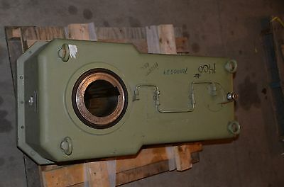 """L. KISSLING & CO. 76329/1 TYPE ZQ-246 R MD 17000 228:1 Gearbox 5 1/2"""" Shaft"""