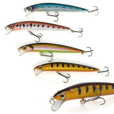 CABO 130mm Surfin Minnow- Long Rattling Fishing Crankbait Hard Action Lure
