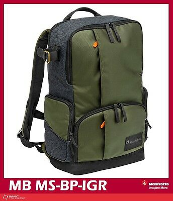 Manfrotto Street Medium Multi-functional Backpack Mfr # MB MS-BP-IGR
