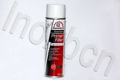 Spray Pintura Imprimacion Acrilica Para Carroceria Color Blanco 500 Ml
